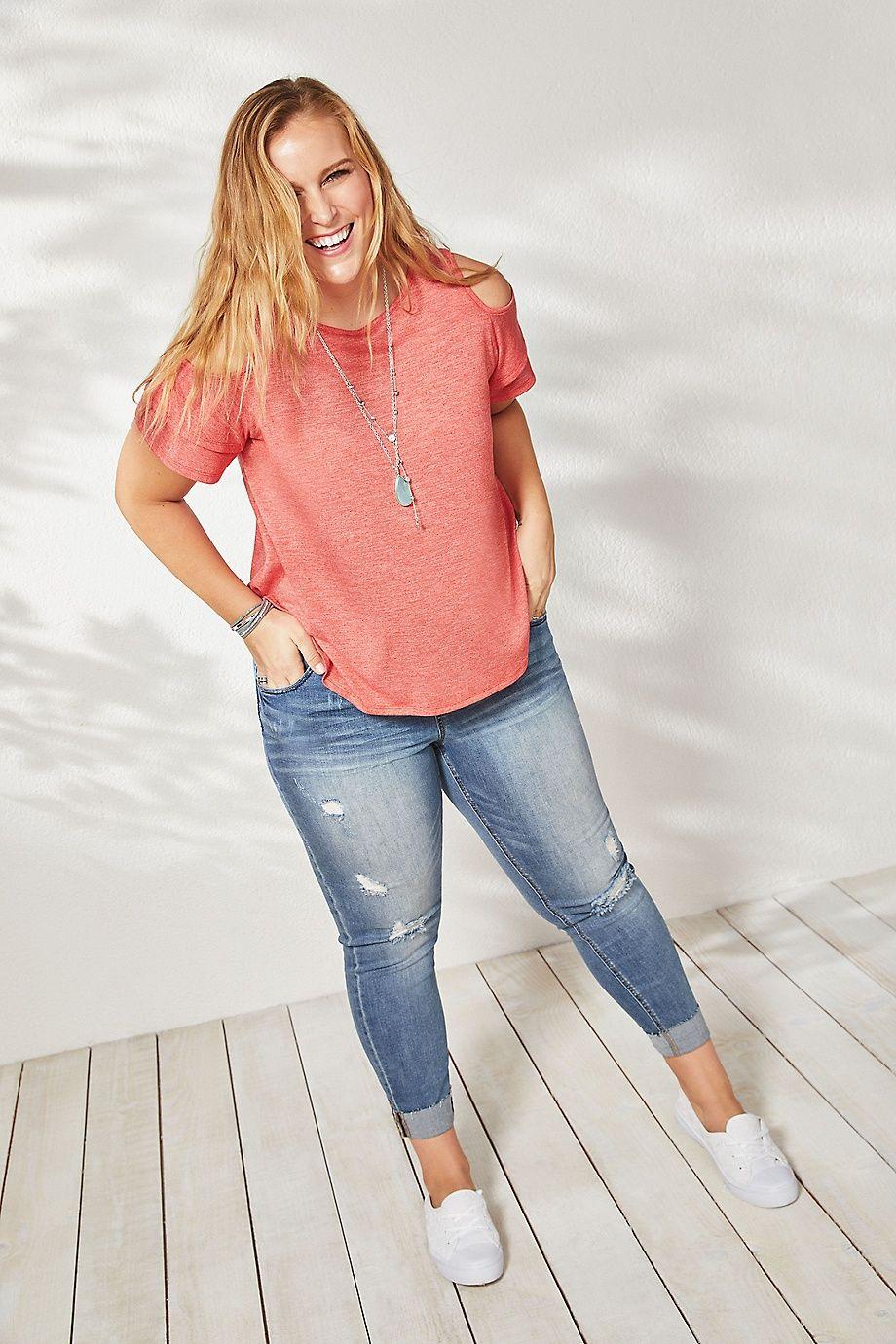Как правильно подобрать идеальные джинсы для полных