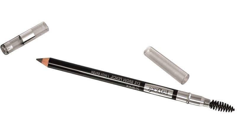 Макияж бровей: правила нанесения карандашом, тенями, воском, тушью