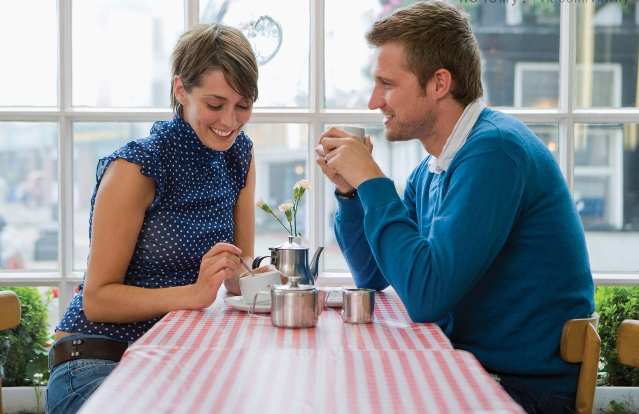 Как себя вести и о чем говорить с мужчиной на первом свидании